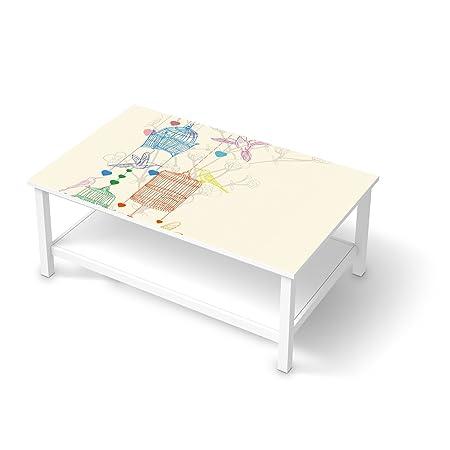 Creatisto Möbel Aufkleber Folie Für Ikea Hemnes Couchtisch 118x75 Cm