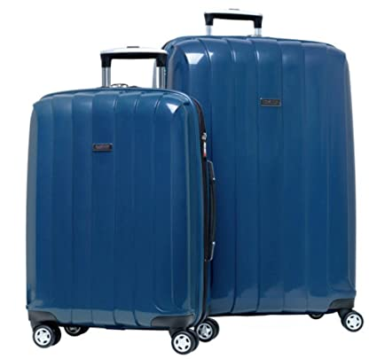 b6f623162 Amazon.com: RICARDO BEVERLY HILLS LIGHTWEIGHT POLYCARBONATE EXPANDABLE  SPINNER 2PC SET BLUE LUGGAGE: Home & Kitchen