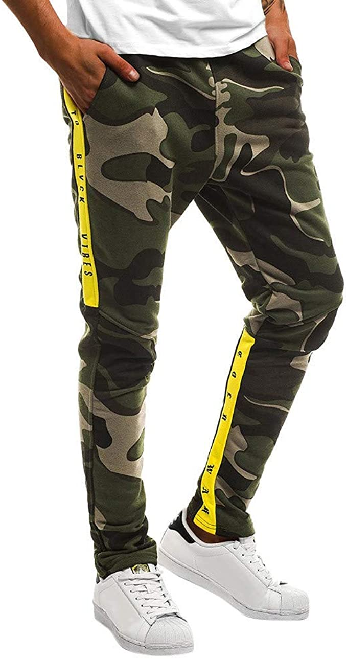Lannister Fashion Pantalones Ranger para Hombre Pantalones Chándal ...