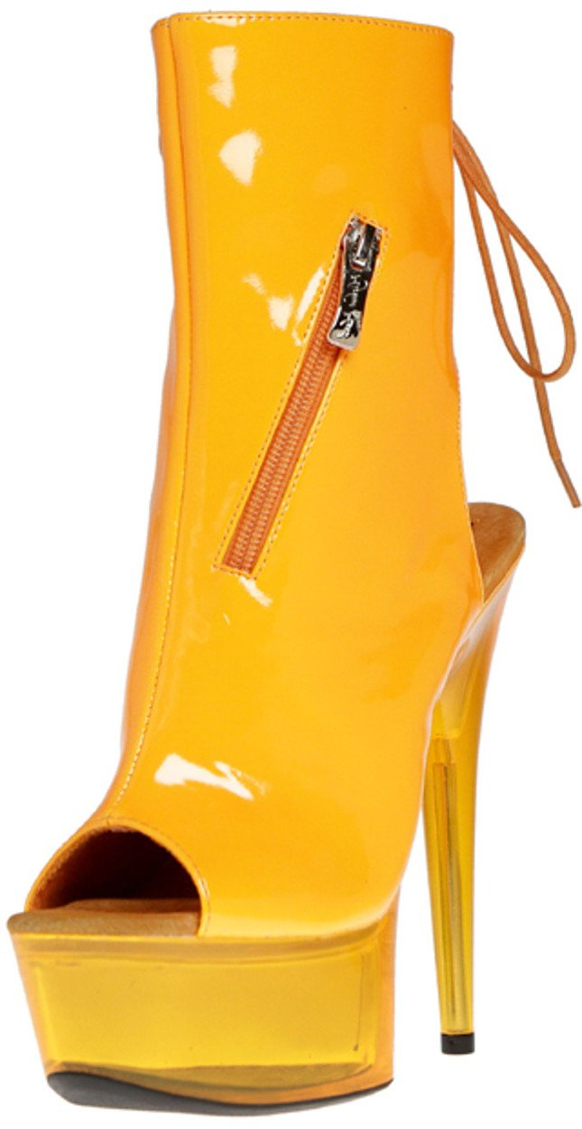 The Highest Ankle Heel Amber-601, 6