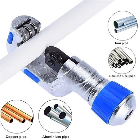 MEYUEWAL Coupe-Tube 4-32mm 5-50mm Coupe Tube /à Roulement /à Billes Outil de Coupe pour Acier Inoxydable en Aluminium de Cuivre 5-50MM