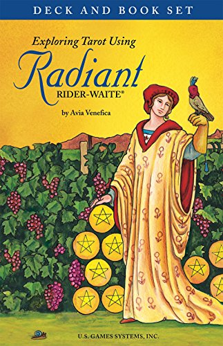 Exploring Tarot Using Radiant Rider-waite Tarot: Deck & Book Set