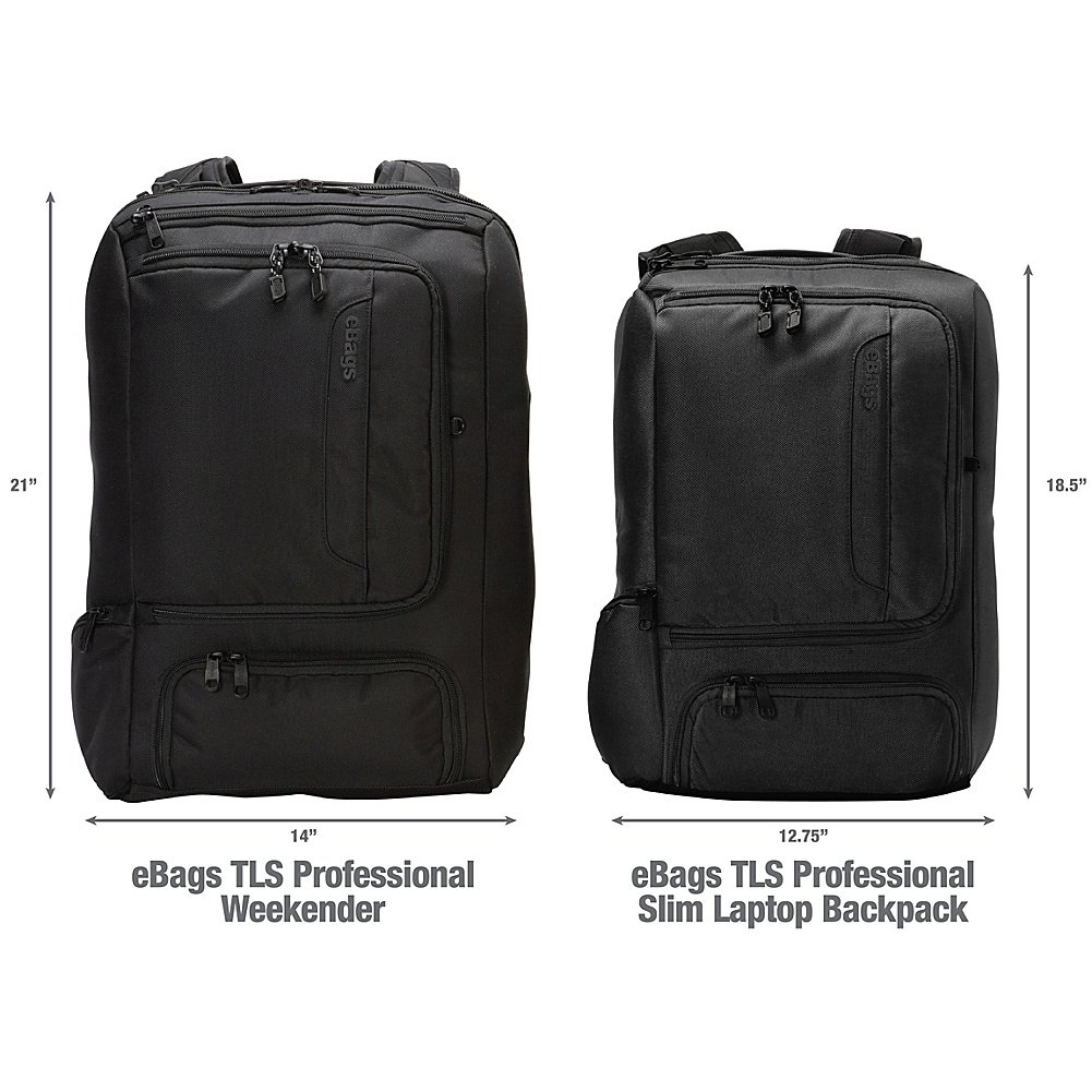 94a477923a Amazon.com  eBags Professional Slim Laptop Backpack for Travel ...