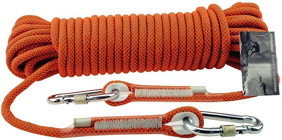 GAONAN Cuerda de Alpinismo |Al Aire Libre de la cuerda-11mm ...