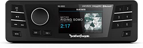 Rockford Fosgate Radio With Smartphone Connection