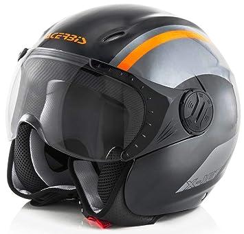 K-Jet - Casco Negro/Naranja, XXL