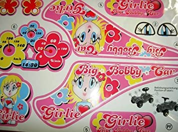 Big Bobby Car Classic Girlie Stickers Sticker Decals Amazon