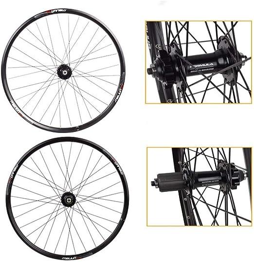 AIFCX 26 Pulgadas de Bicicletas, Ruedas híbridos Doble Pared de la ...