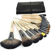 SunJas profesional 24 pcs/set Pinceles - Cepillo de maquillaje/Brush cosmética belleza & make-up mango Make Up Brush…