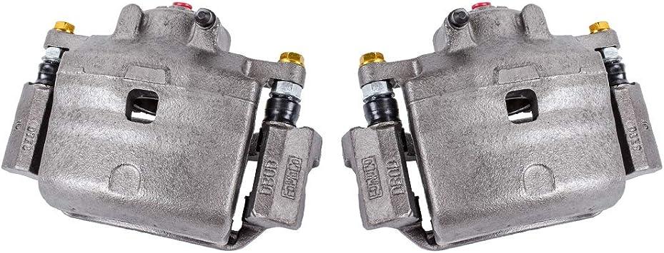 FRONT Premium Grade OE Semi-Loaded Caliper Assembly Pair Set Callahan CCK01588 2