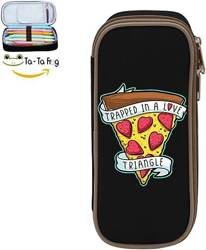Estuche escolar personalizado para niños con dibujos de frutas, pizza, estuche para lápices y bolígrafos, bolsa para niñas: Amazon.es: Juguetes y juegos