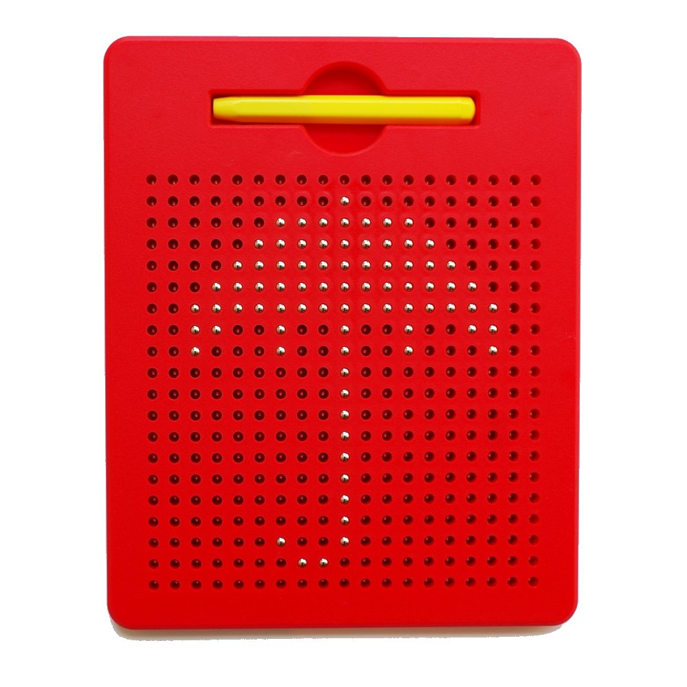 xcivi Free Play Magnatab Magnetic Drawing Board Magnetic Pads (Red)