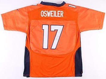 Brock Osweiler Autographed Signed Denver Broncos Nike Orange Home Jersey  Memorabilia - JSA Authentic 5a63403003b8b