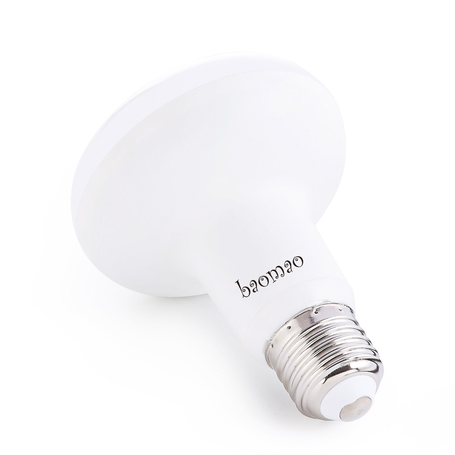 E26 base 75W Incandescent Bulbs Equivalent 9W R25 R80 BR25 LED bulb Cool White R25 Non-Dimmable LED flood Bulbs 900lm,5500K. Baomao 2PACK