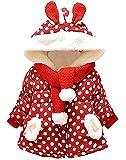 RJXDLT Baby Girl's Toddler Kids Fall Winter Coat