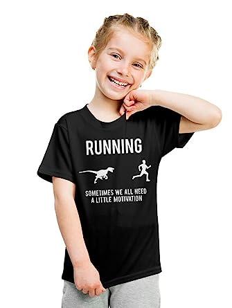 b867b0ff0 Youth Running Motivation T shirt Funny Running T shirts Sarcasm Humor Run  Novelty Tees (Black
