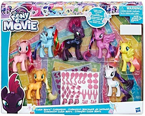 My Little Pony The Movie Exclusive Cutie Mark Collection (My Little Pony Cuties)