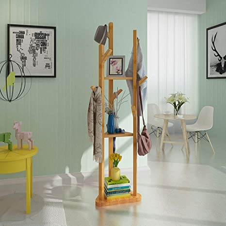Coat Stand - ♢ YMJ Perchero Almacenamiento Simple Soporte ...