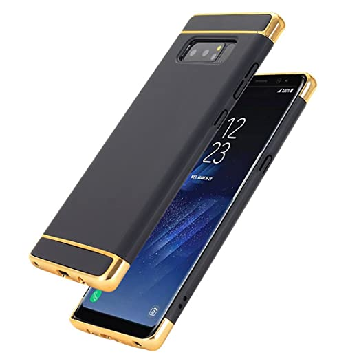 on sale 4ed13 2a758 Samsung Galaxy Note 8 Case, Shockproof 3 in 1 Slim Fit Hard PC Cover for  Galaxy Note 8