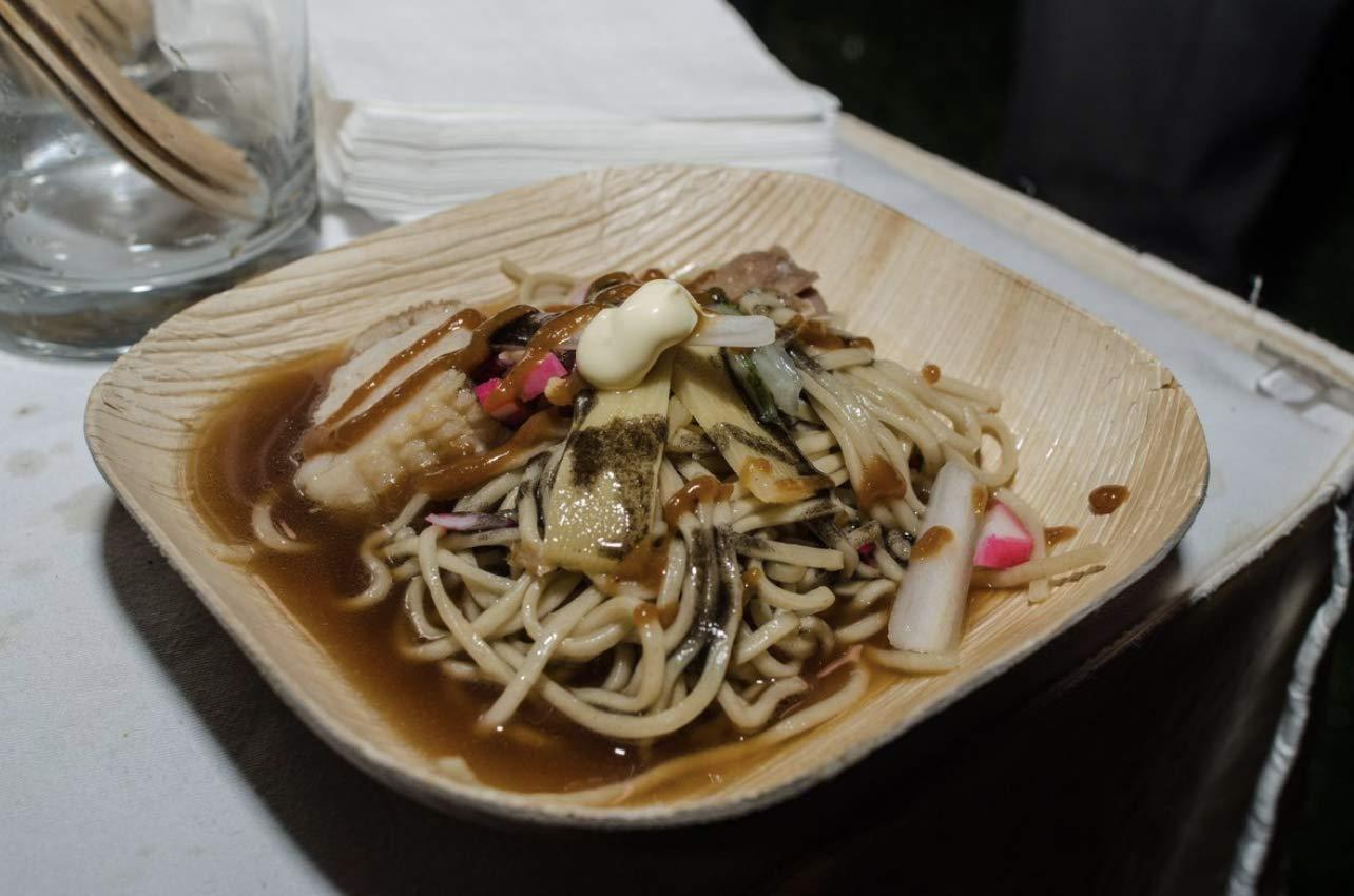 Verterra Compostable Dinnerware- 8'' Square Entree Plate (300-Pack), 300, Natural by Verterra (Image #6)