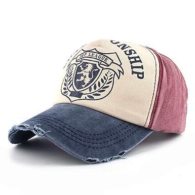 eeb67d4a456 AdorabFitting-Cap Baseball Cap hat Men and Women Edging caps Outdoor Sun  Protection Sun hat