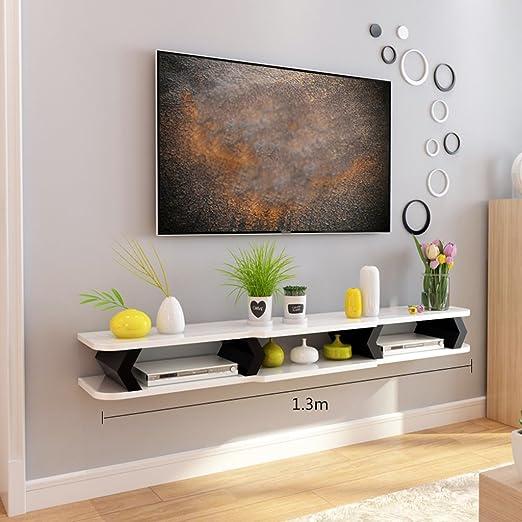 Shelf Units Mueble de TV con estantes de Caja, para Sala de Estar ...