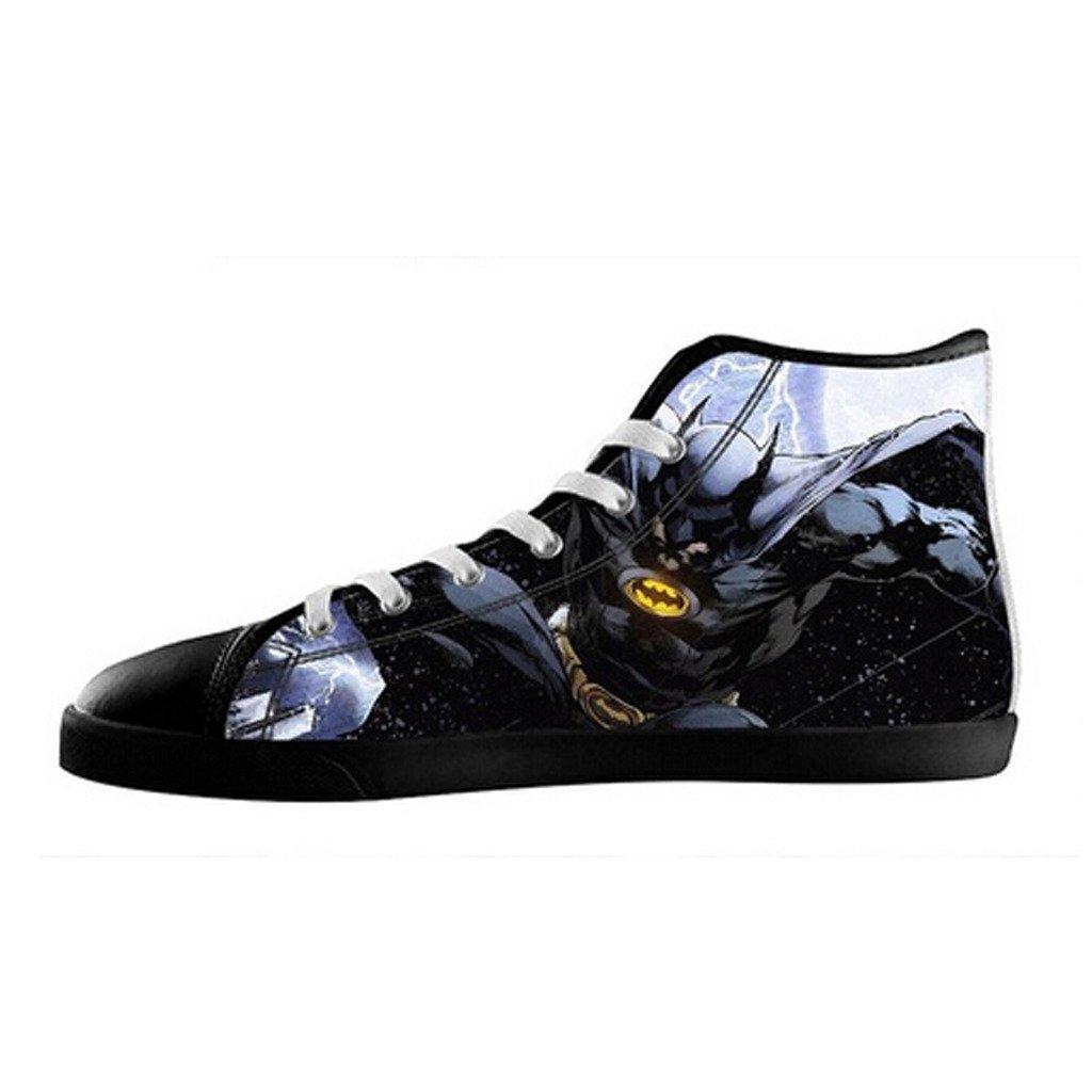 f1148881fabcb Custom Men Batman Canvas Shoes High Top Sneakers