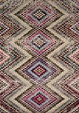 "Momeni Rugs CASABCAS15MTI3B57 Casa Collection Soft Blend Contemporary Area Rug, 3'11"" x 5'7″, Multicolor"