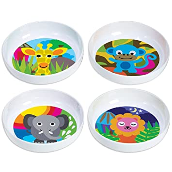 French Bull - BPA Free Kids Bowls - Melamine Kids Bowl Set - Kids Dinnerware -  sc 1 st  Amazon.com & Amazon.com: French Bull - BPA Free Kids Bowls - Melamine Kids Bowl ...