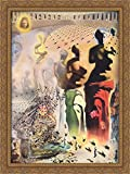 The Hallucinogenic Toreador 28x36 Large Gold Ornate Wood Framed Canvas Art by Salvador Dali