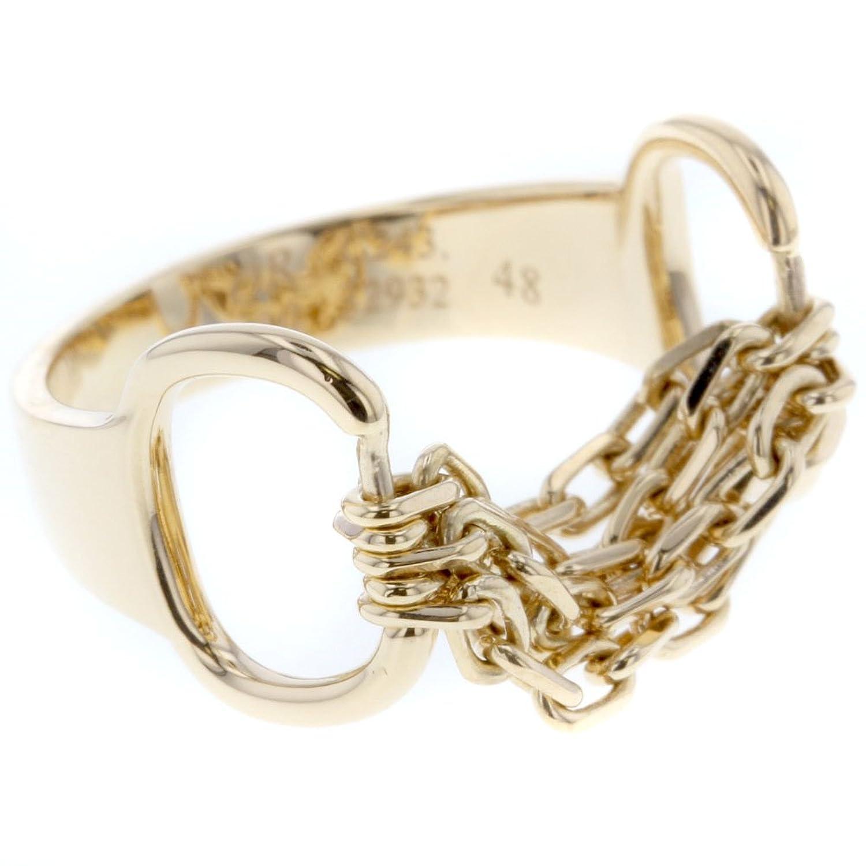(ブシュロン) Boucheron チェーン リング指輪 K18イエローゴールド レディース 中古 B07DXK5V8Y