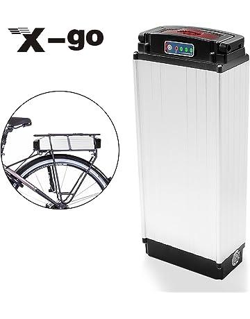 X-go 48V 20Ah 1000W Cell Holder Back Carrier Li-ion Battery for E
