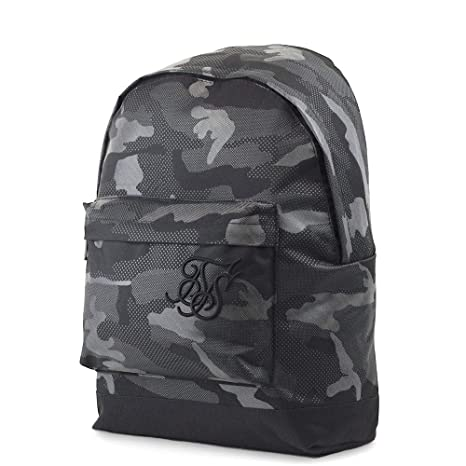 Sik Silk SS-13257 Pouch Backpack - Reflective Black Camo Black: Amazon.es: Equipaje
