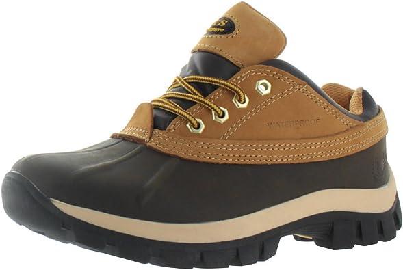 KingShow Men's Waterproof Duck Boots