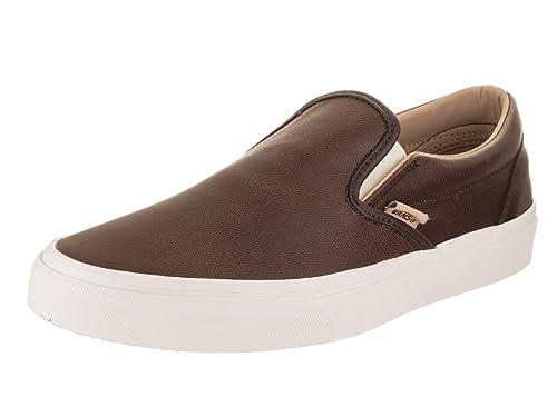 5c87606982 Vans Unisex Classic Slip-On (Lux Leather) Skate Shoe  Amazon.ca  Shoes    Handbags