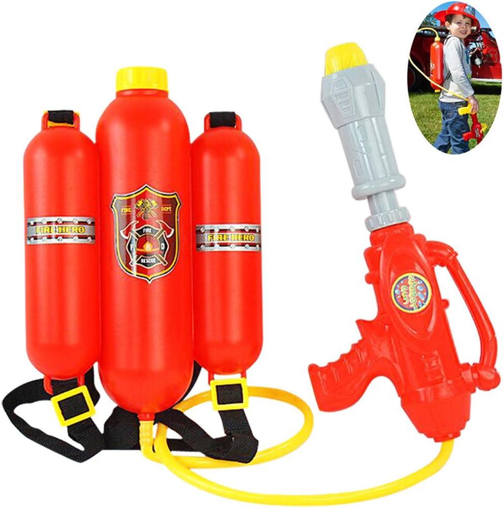 Fansport Mochila Pistola de Agua Blaster, Water Shooter Beach Toy y Piscina Deportes al Aire Libre Juguetes