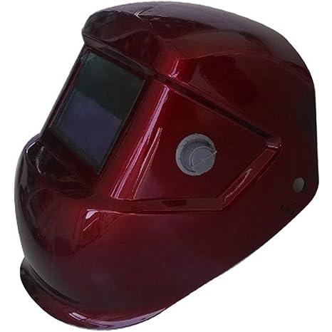ZHIFENGLIU Solar automático de luz Variable Ajustable camaleón Soldadura máscara argón Arco Casquillo de Soldadura Casco