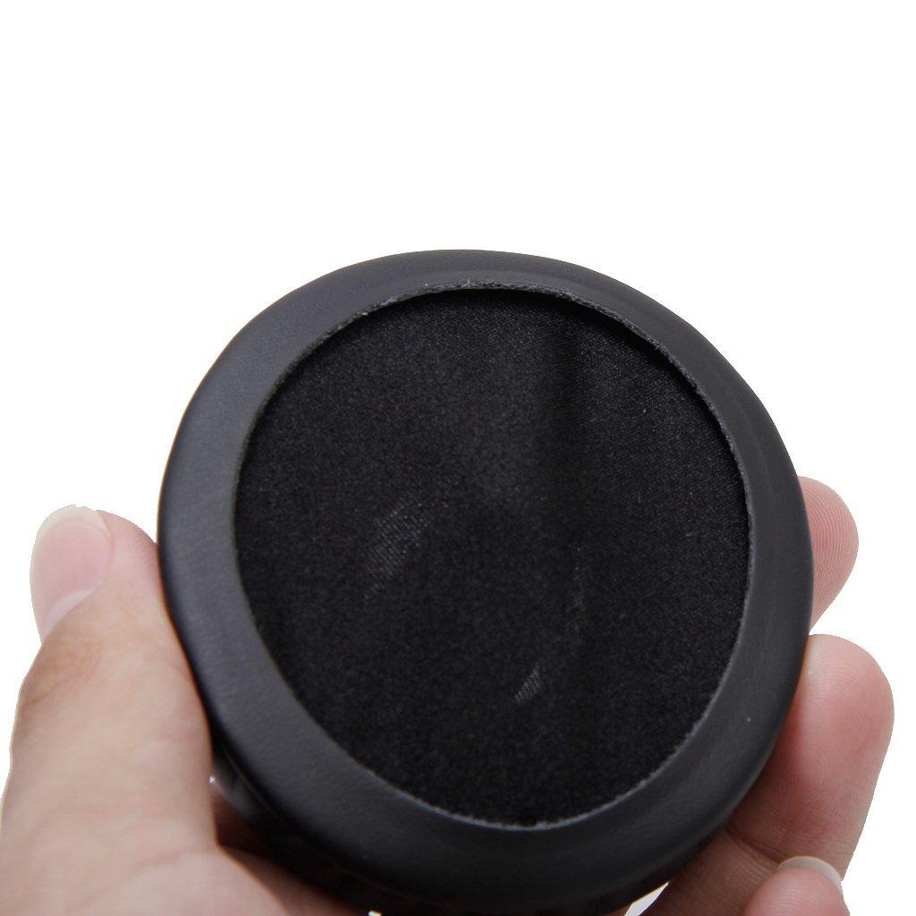 R 1 par de almohadillas de oido Almohadillas de repuesto para G35 G930 G430 F450 Casco Negro SODIAL