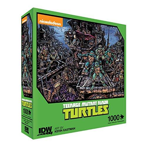 IDW Games Teenage Mutant Ninja Turtles Universe Jigsaw - Turtles Tmnt Games
