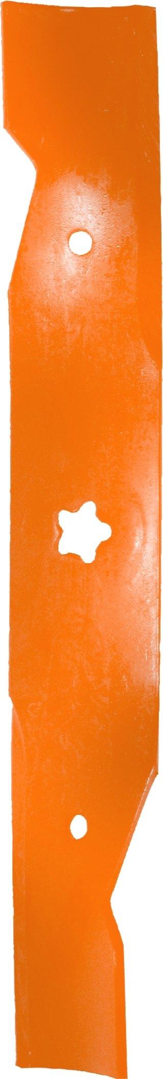 Husqvarna HU22027 48-Inch Premium Hi-Lift Bagging Blade, 3-Pack, Orange by Husqvarna