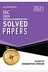 Solved Papers - Annual Examination (Humanities Stream) - ISC Class 11 for 2021 Examination Kindle Edition