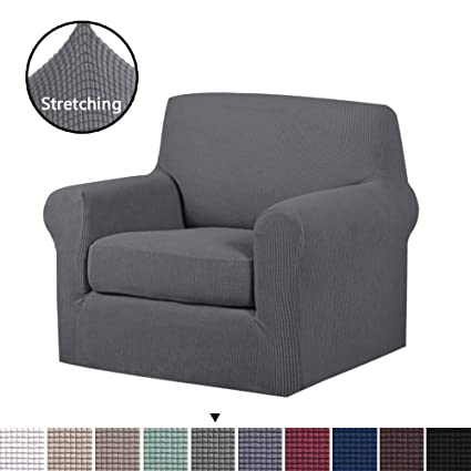 Awe Inspiring Soft Spandex Chair Covers 2 Pieces Furniture Protector Rich Bralicious Painted Fabric Chair Ideas Braliciousco
