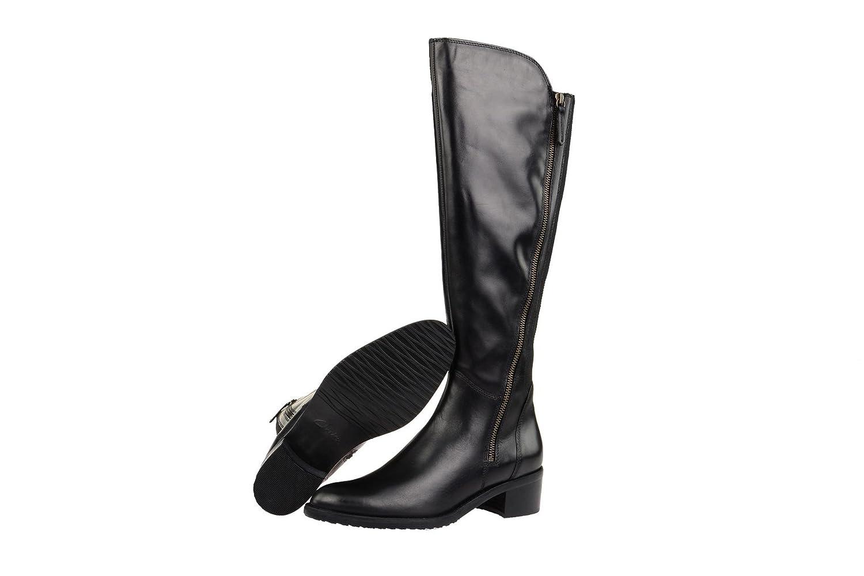 Damen-Schuhe Stiefel mit Steinen Schwarz Größe 40 Melrose 1CYAc