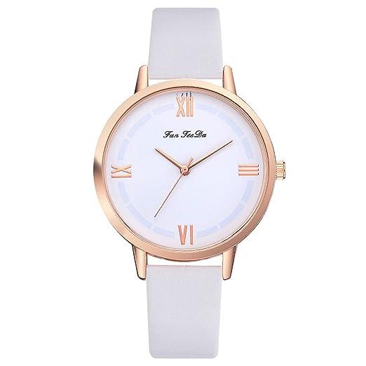 OHQ Reloj De Pulsera De Cuarzo De Moda Casual Para Mujer Reloj FanFeeDa Pulsera Reloj Inteligente Marcar El Reloj Reloj ElectróNico: Amazon.es: Relojes