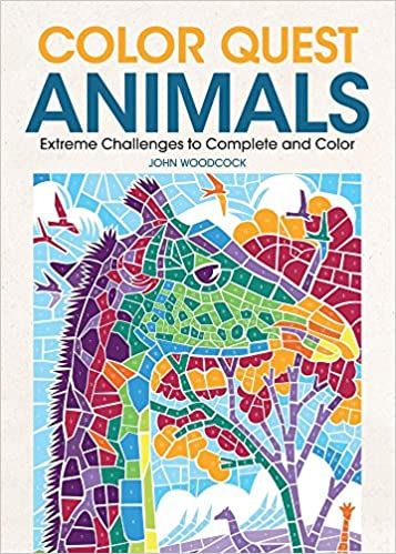 Amazon.com: Color Quest Animals: Extreme Challenges to Complete and ...