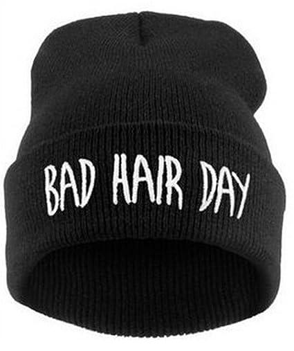 Amazon.com   Leegoal Bad Hair Day Beanie Hat   Sports   Outdoors 42d253e44b9