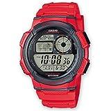 Casio Herren-Armbanduhr Digital Quarz Resin AE-1000W-4AVEF