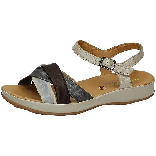 4a6f911cf58 MADE IN SPAIN 33516 Sandalia Piel Blanda SEÑORA Sandalias  Amazon.es   Zapatos y complementos