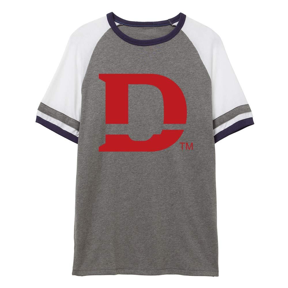 NCAA Dixie State Trailblazers PPDIX05 Unisex Slapshot Vintage Jersey T-Shirt