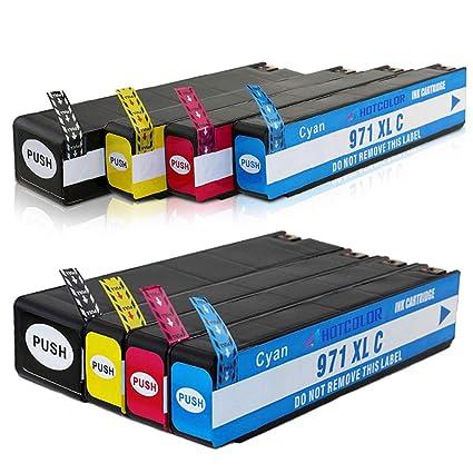 5 pk 970XL 971XL 970 971 CN625AM HY Black /& Color Printer Ink Cartridge for HP